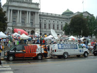 more news vans - CH.3 is from Philly