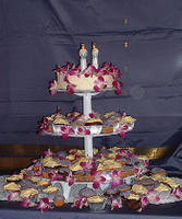 the cake was actually many - one small cake and many many cupcakes