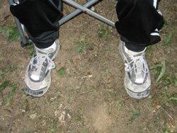 Mron's feet