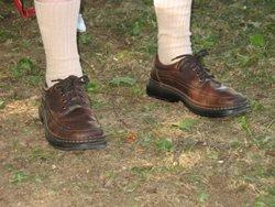 Dad's feet