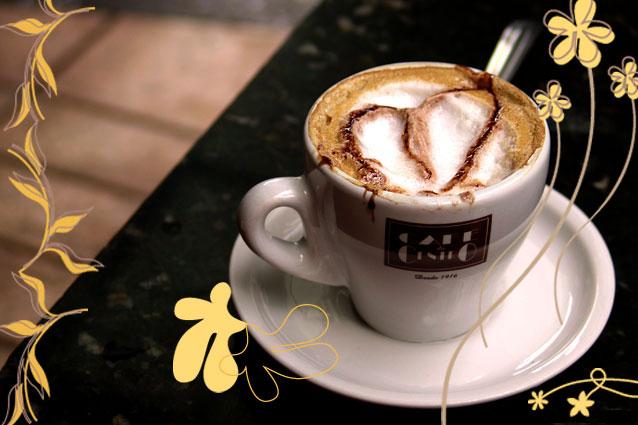 pense bem antes de abrir o ziper cafe decorado pelo