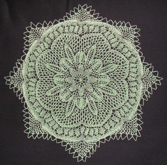 The Cromulent Knitter: Knitting a German doily pattern, part 1: German knitti...