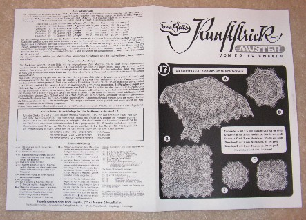The Cromulent Knitter Knitting A German Doily Pattern Part 2