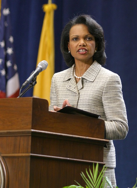 Condoleeza rice phd thesis