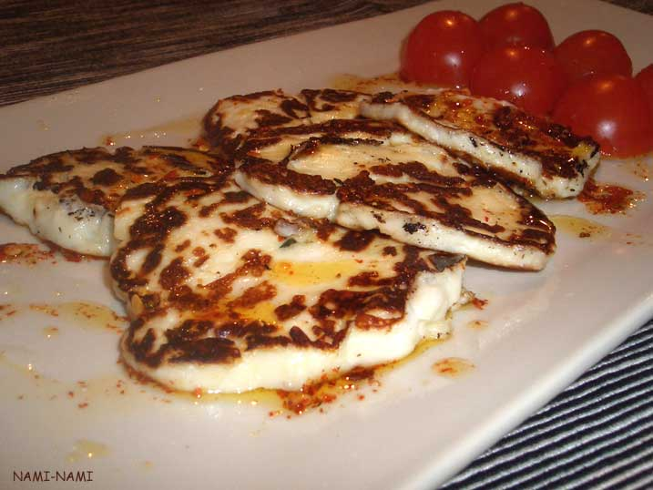 ... NAMI: a food blog: Nigella, again: fried halloumi with chilli drizzle