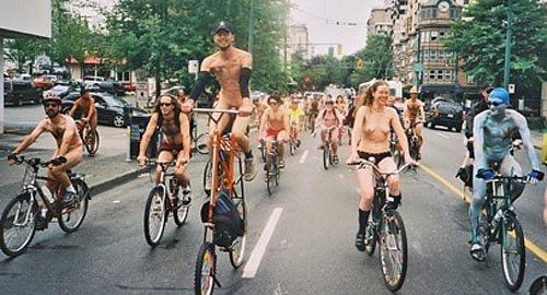голые велосипедисты велопробег порно фото