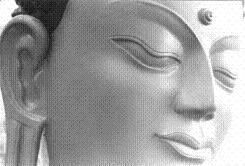 EL BUDA nos marca el centro de nuestro entrecejo que se ha llamado el TRIKUTE, hasta el BRAHMARUNDRA...Click aqui para ingresar en esta informacion