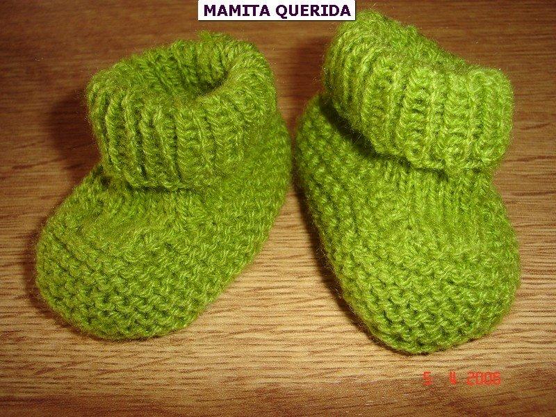 Mamita Querida: Escarpines a dos agujas