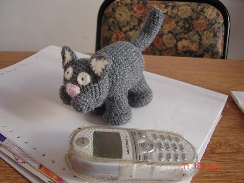 Mamita Querida: Mini gatito al crochet.