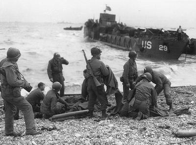 Photo of D-Day 1944 War