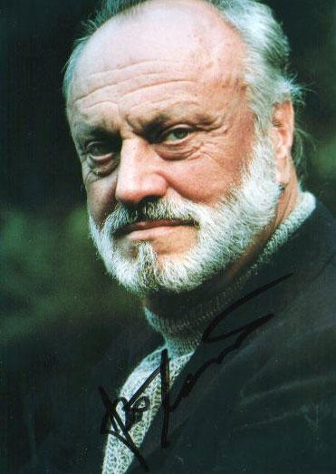 Kurt Masur will eat you, if you don't behave