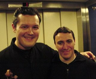 Vadim Repin (The little man next to him is Maxim Vengerov)