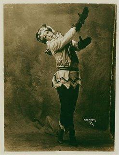 Nijinsky as Pétrouchka