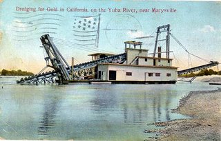 Yuba River Gold Dredging