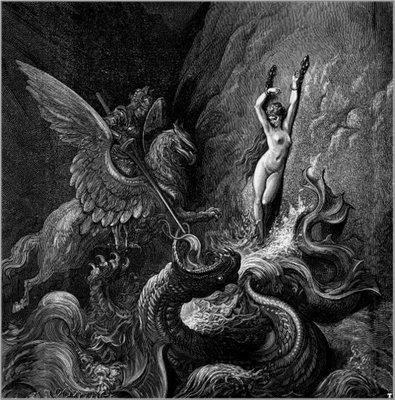 Orlando Furioso, Gustave Doré illustration
