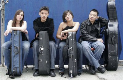NEC's Parker String Quartet