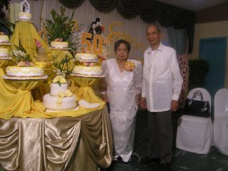Mom and Dads Golden Wedding April 2005