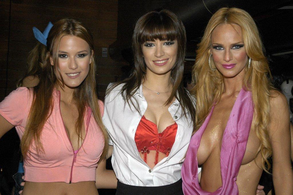 Carla Conte hot with friends