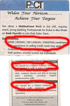 Life in Dubai: Racial discrimination in the UAE