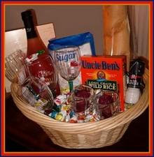 Hearts And Flowers Cookbook New Home Blessings Basket