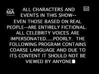 South Park disclaimer