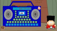 Cartman's Boombox