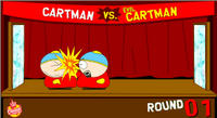 Cartman vs Evil Cartman