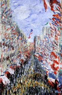 Bastille Day by Monet