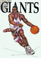 O jogador de basquete