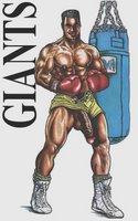 O lutador de boxe