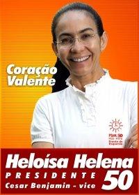 HELOÍSA HELENA Presidente 50