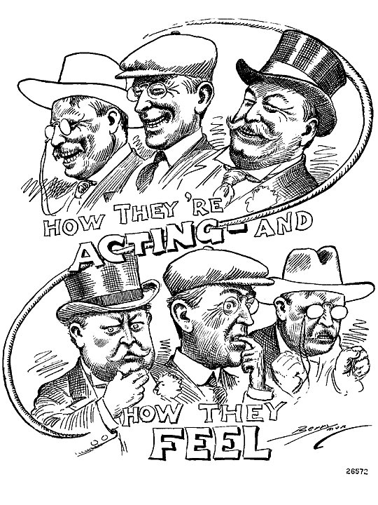 American Presidents Blog: The Election of 1912