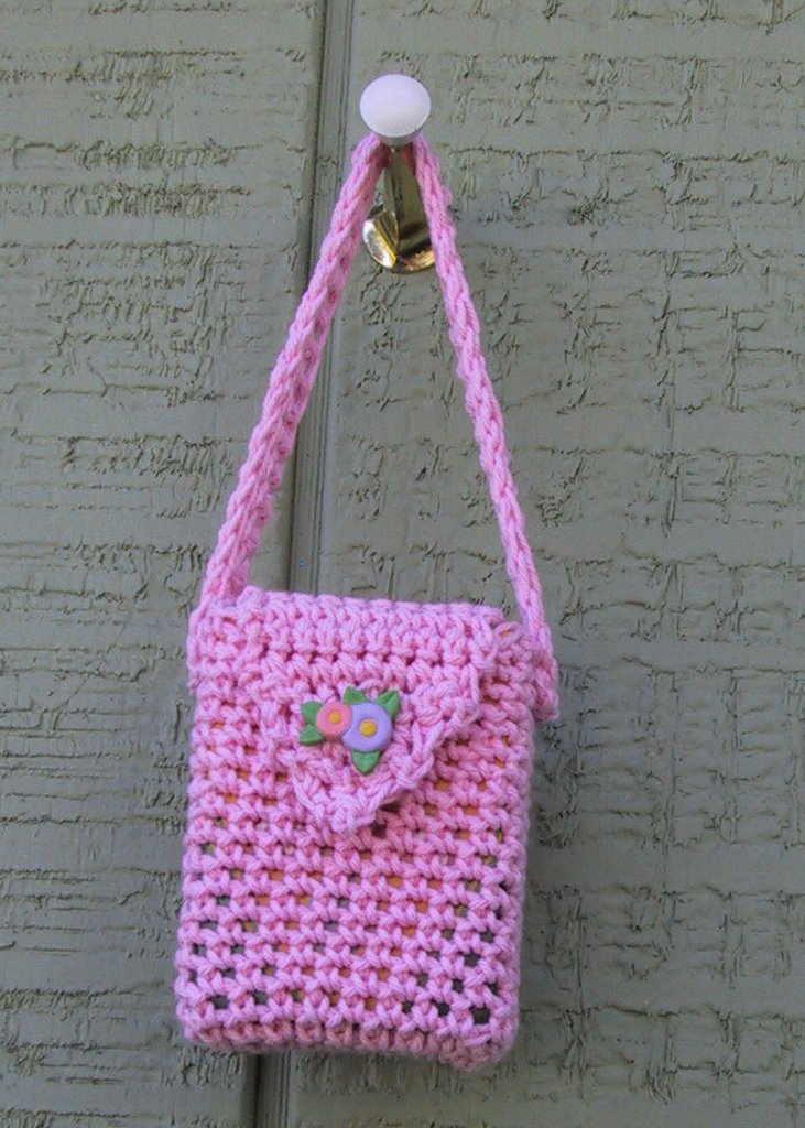 Free Crochet Purse Patterns For Kids : Suzies Stuff: CRAYON PURSE PATTERN