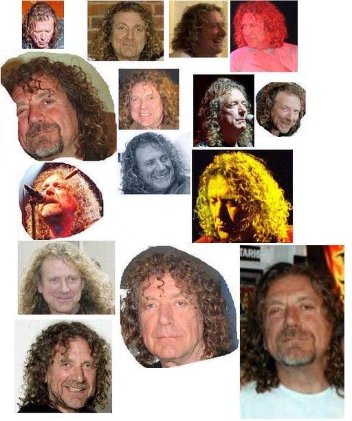 Robert Plant's Face
