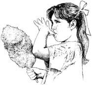 flickvän äter godis Ängelholm och Vejbystrand