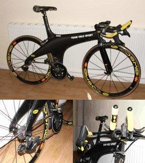 Hotta Time Trial Bike Bicycle Design