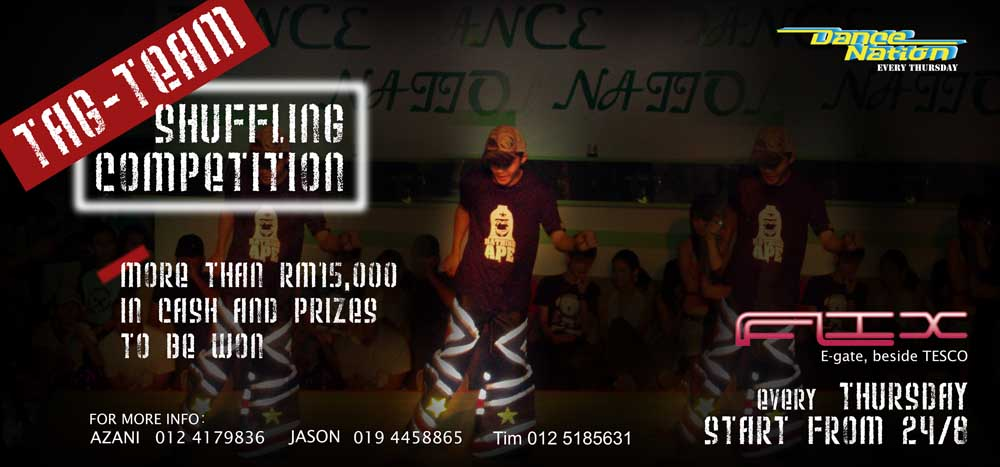 Penang House Music Tag Team Shuffling Competition