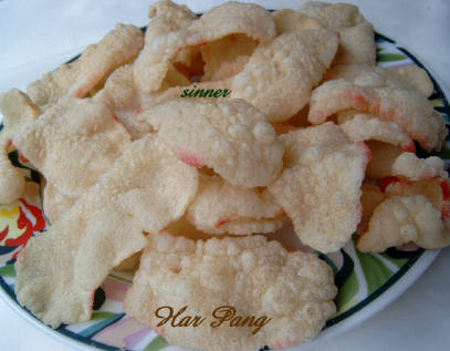 Homemade Prawn Crackers