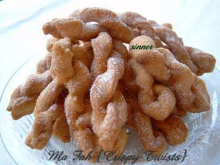 ma fah ~ chinese crispy twistie biscuits