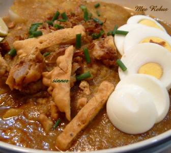 Spicy Sweet Potato Gravy Noodle