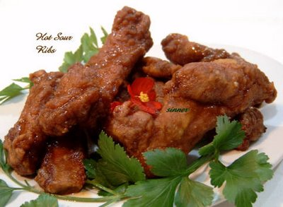 hot and sour spareribs