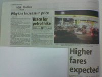 Why the increase in price? Source: The Star