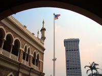 World's Tallest Flagpole. Malaysia Flag.