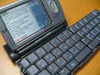 Palm Tungsten T3 with wireless keyboard