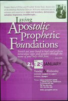 Laying Apostolic Prophetic Foundations