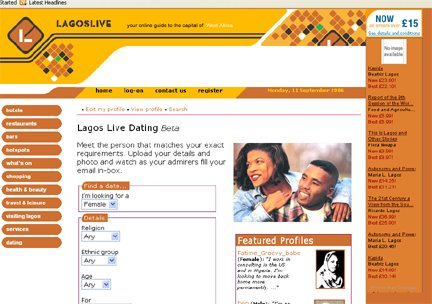 Lagos dating agency