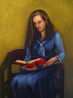 Christian Art Bible Reading by Rita Ford