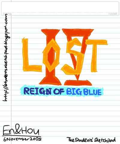 LOST Part IV - Reign of BIG BLUE