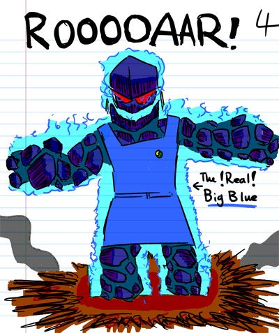 ROOOOOOOOOOOOAAAAARRRR!!! - The REAL Big Blue! (Inferno)