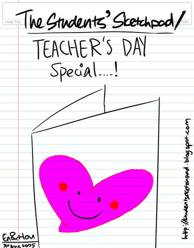 The Students' Sketchpad - Teachers' Day Special!